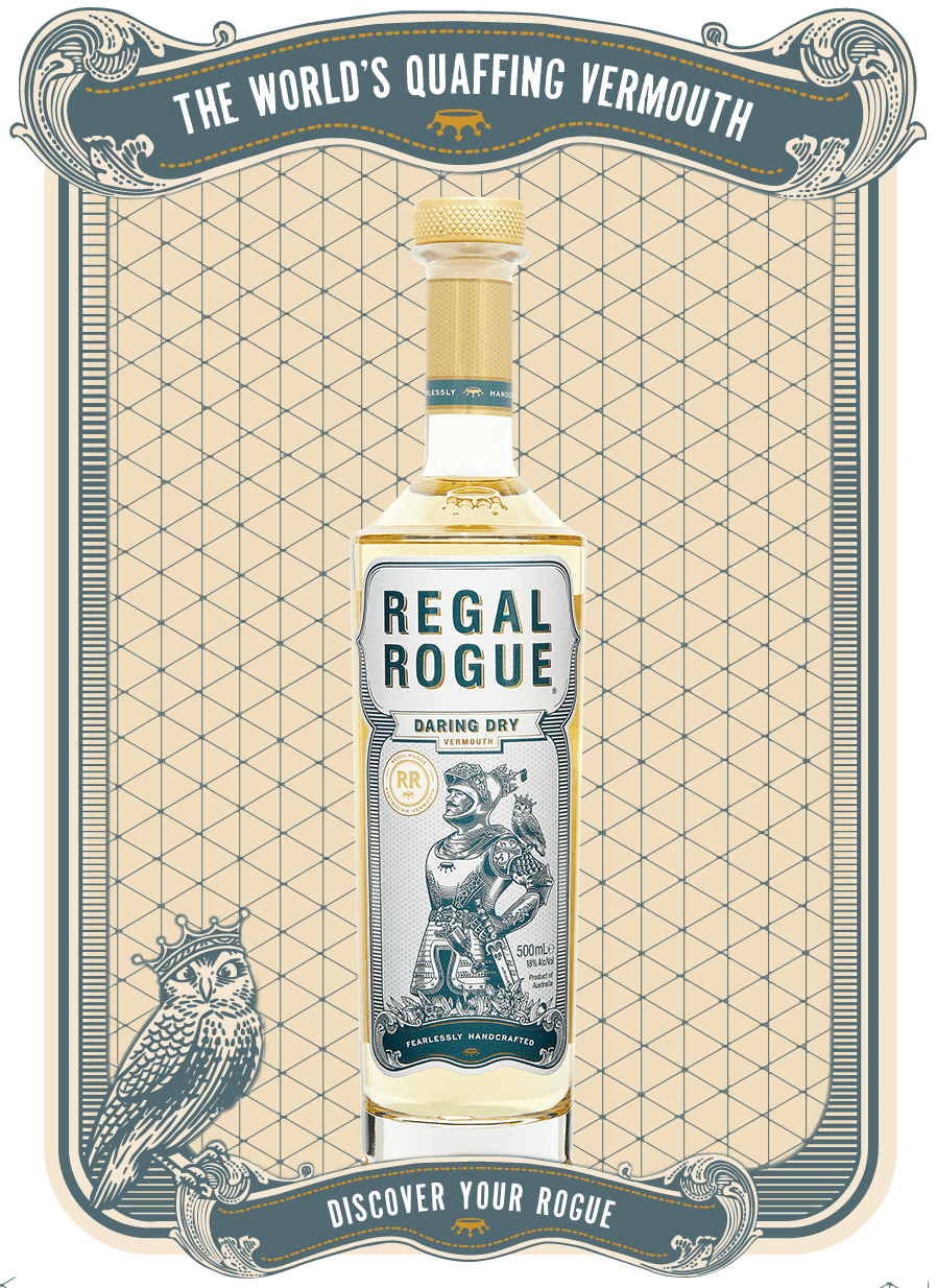 REGAL ROGUE - THE QUAFFING VERMOUTH